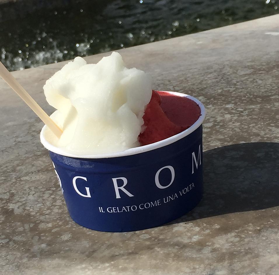 Vegan ice cream in Viareggio