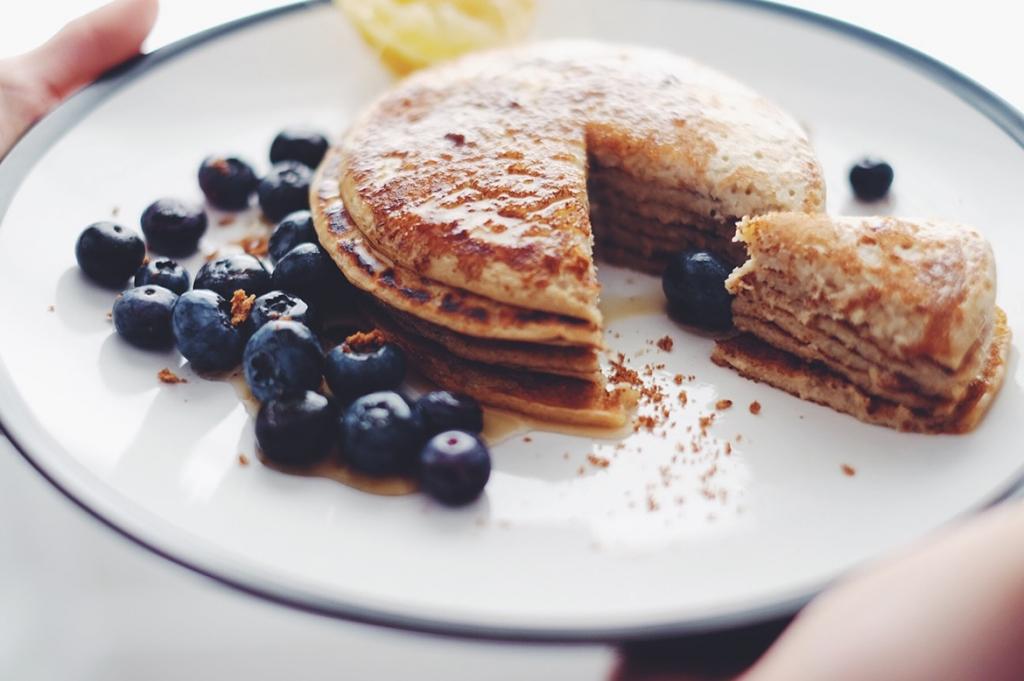Plant based pancakes