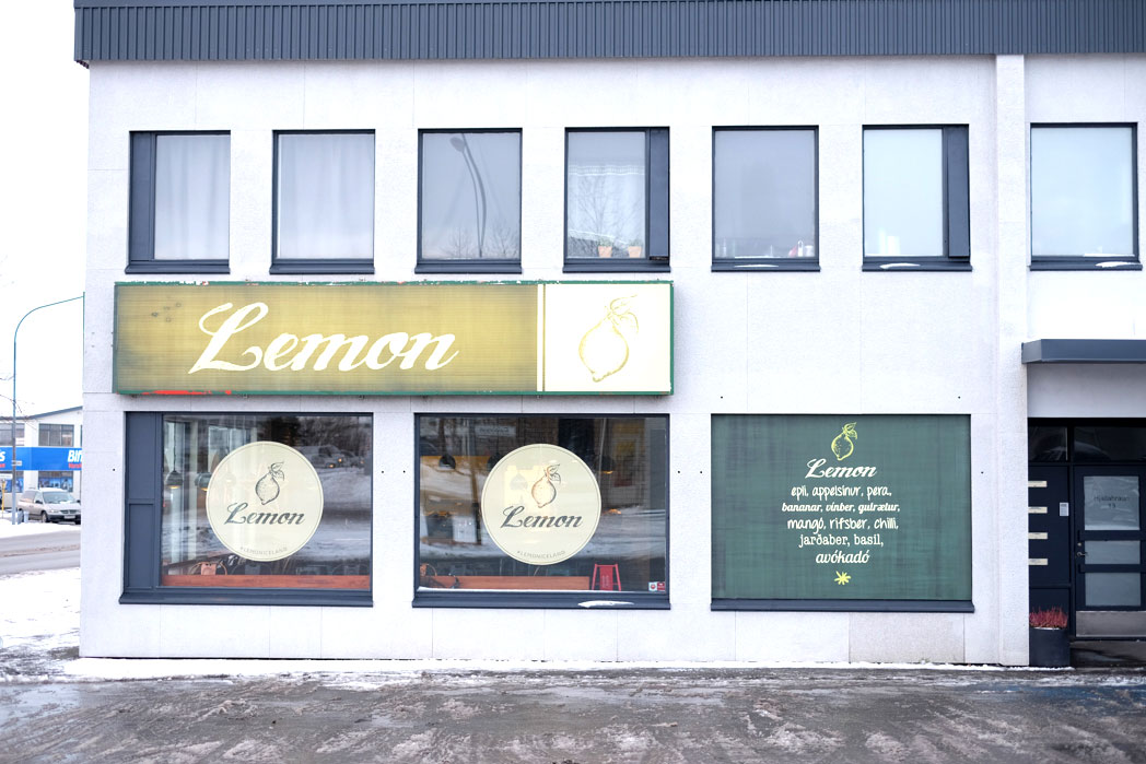 Lemon sandwich & smoothie shop
