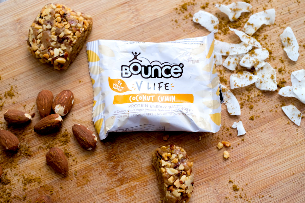 Coconut cumin energy ball