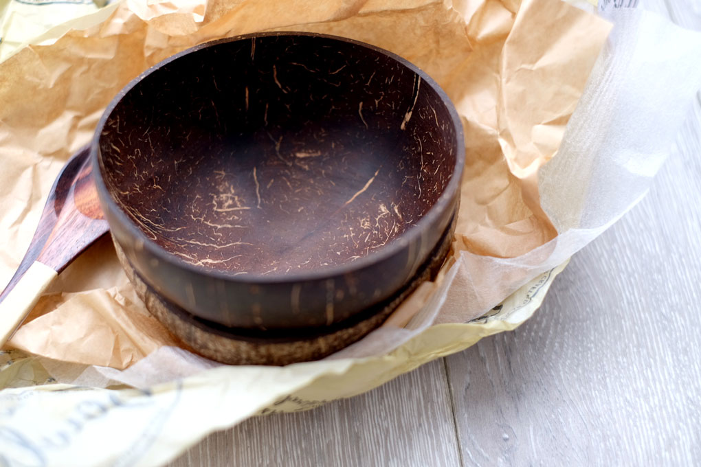 Ethical coconut bowls