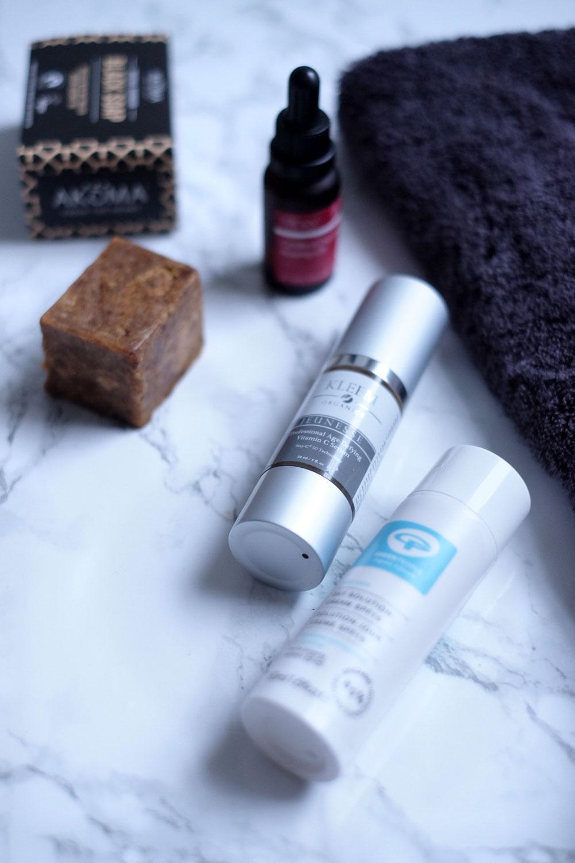 Natural minimal skincare