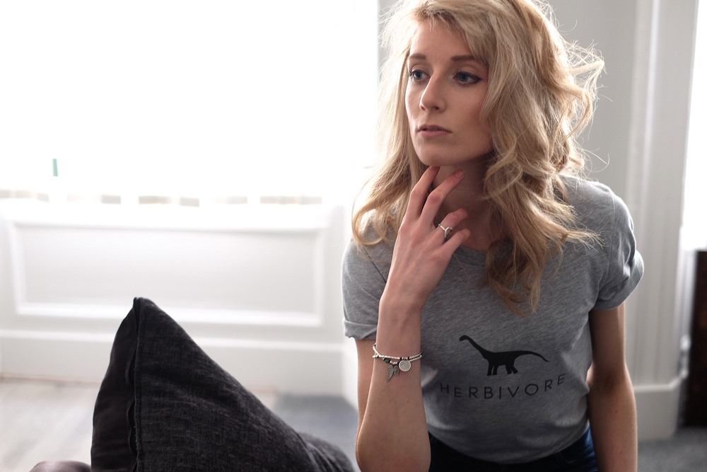 Ethical vegan t-shirt