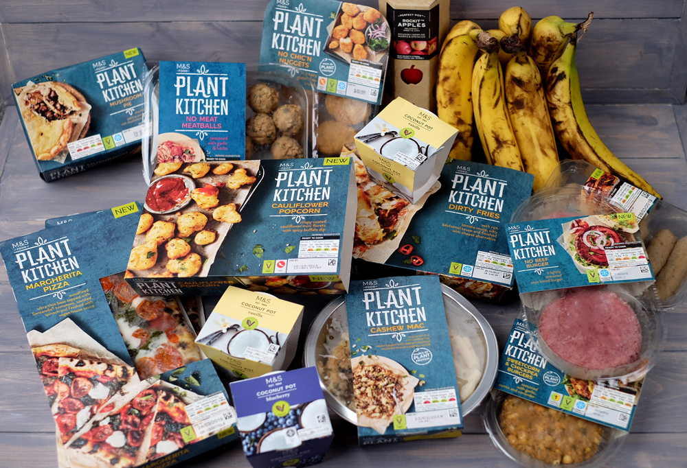 Plant Kitchen foods