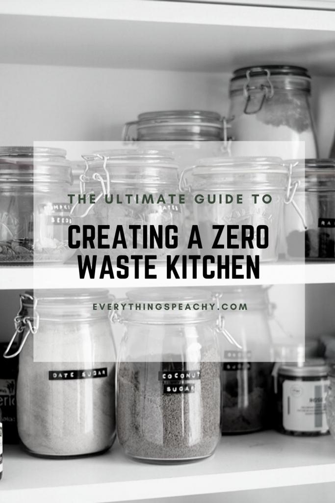 Low waste kitchen pinterest