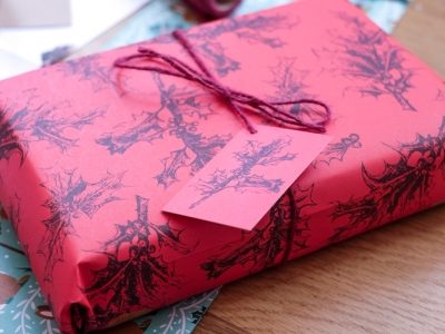 Eco friendly wrapping paper