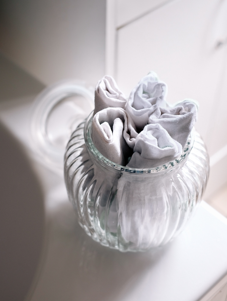 Sustainable muslin cloths