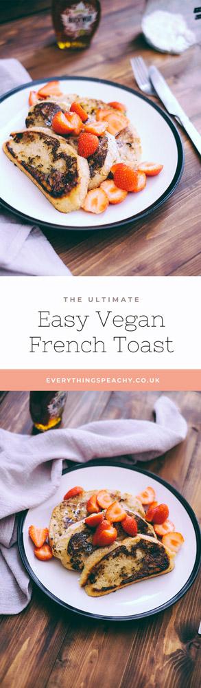 Vegan french toast recipe Pinterest