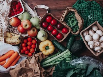 Fresh produce haul