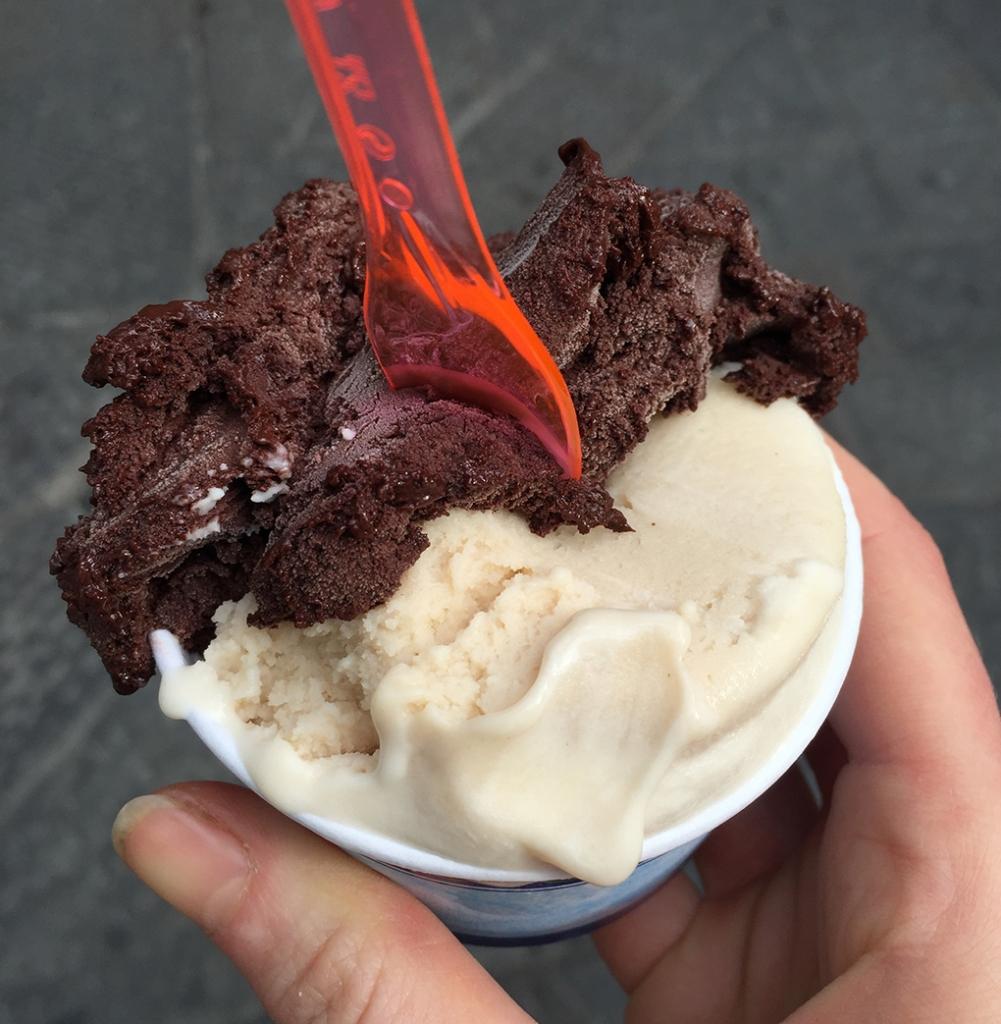 Vegan ice cream in Florence