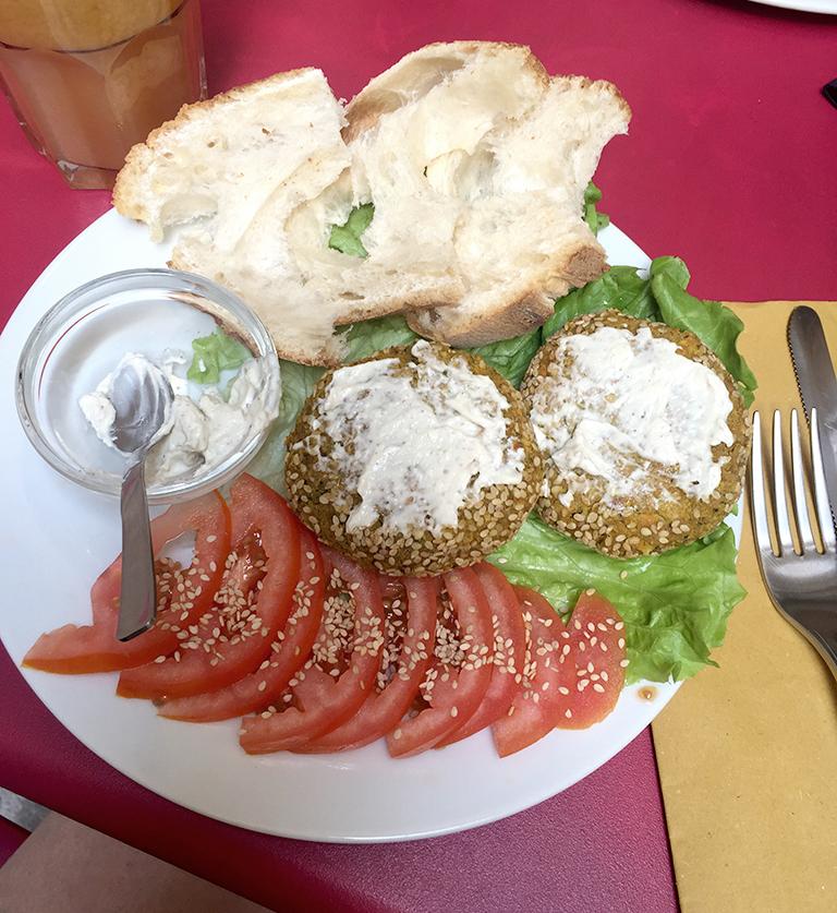 Vegan burger in Verona