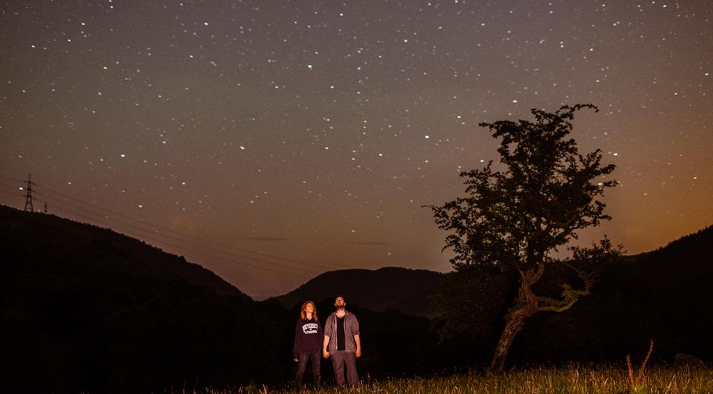 Stargazing in Wales