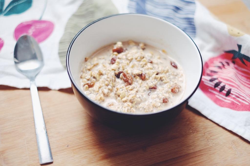 Vegan overnight oats recipe