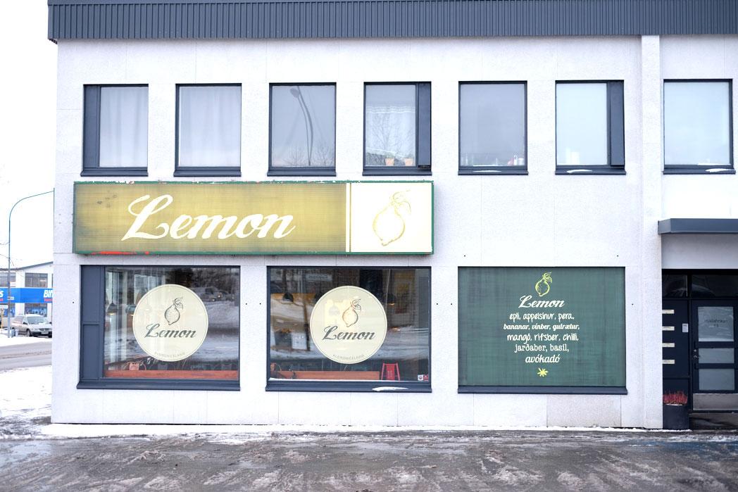 Lemon sandwich & smoothie shop