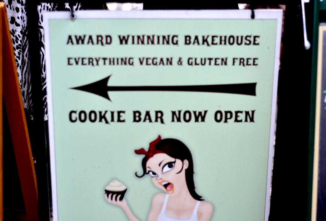 Vegan cookie bar London