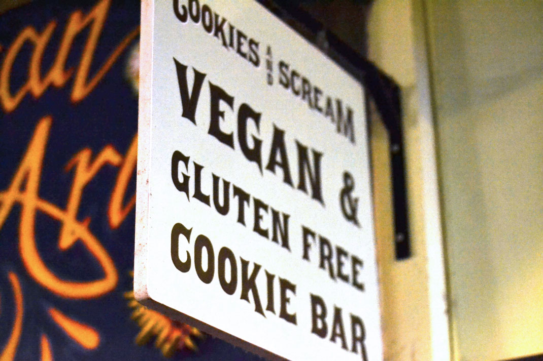 Vegan bakery London