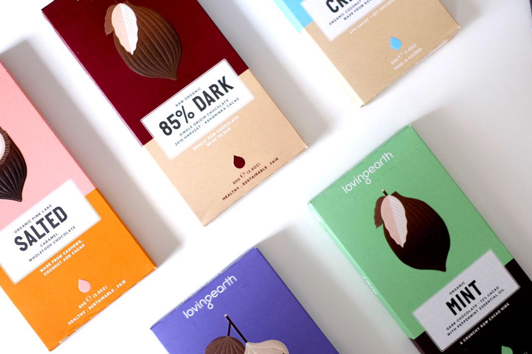 Loving Earth assorted vegan chocolate
