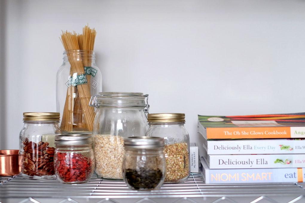 Healthy kitchen staples