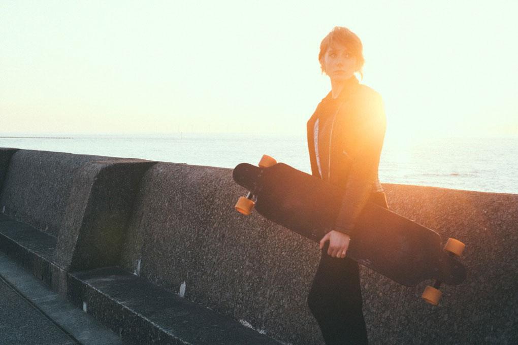 Two Bare Feet longboard