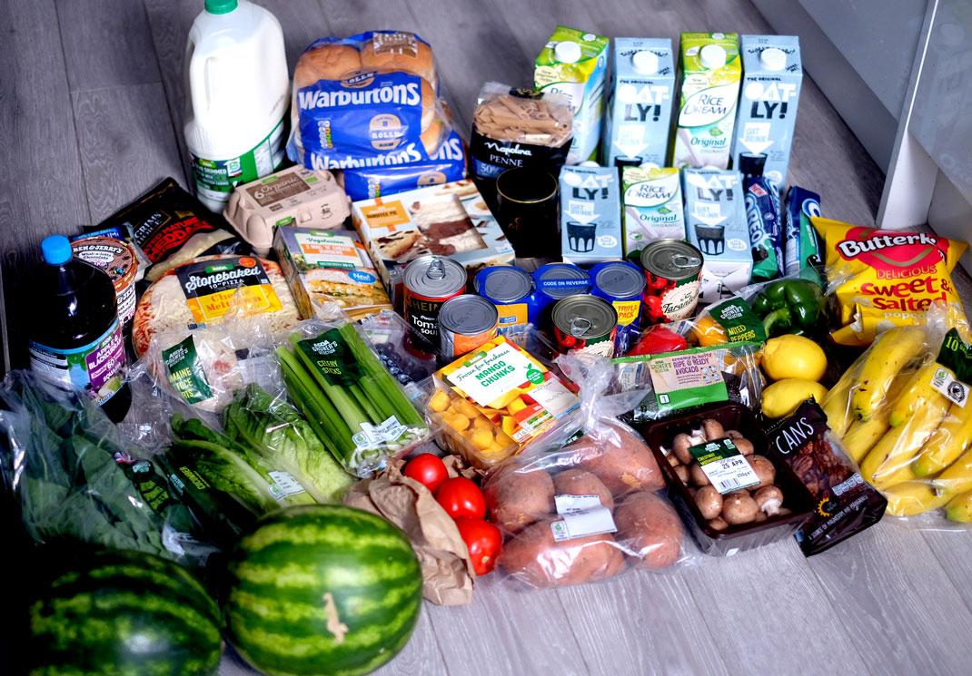 Veggie food haul