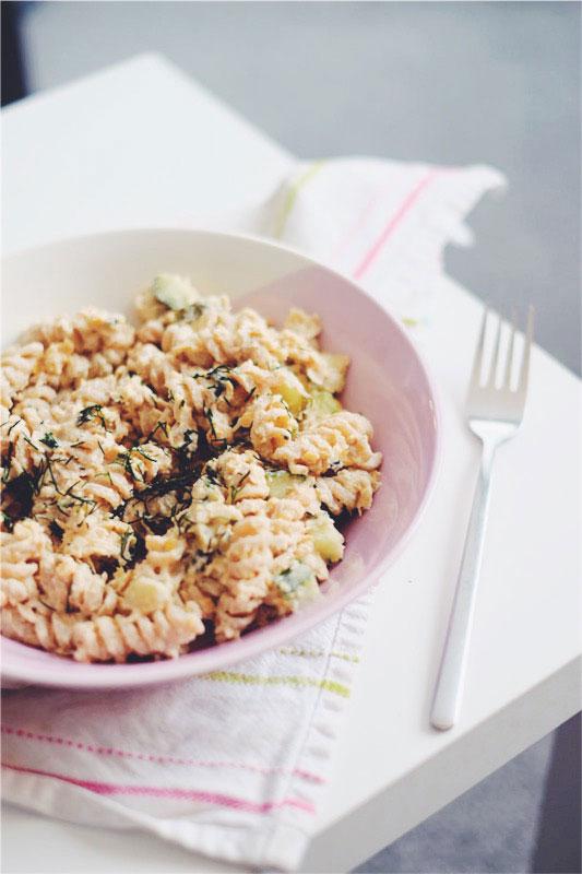 Vegan tuna pasta recipe