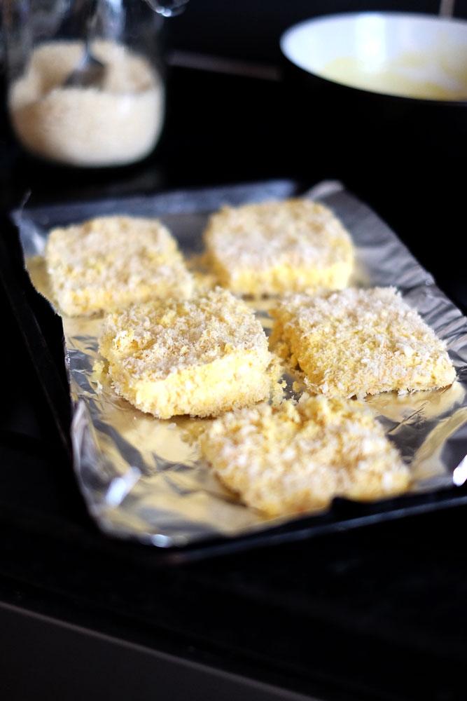 Crispy baked tofu recipe