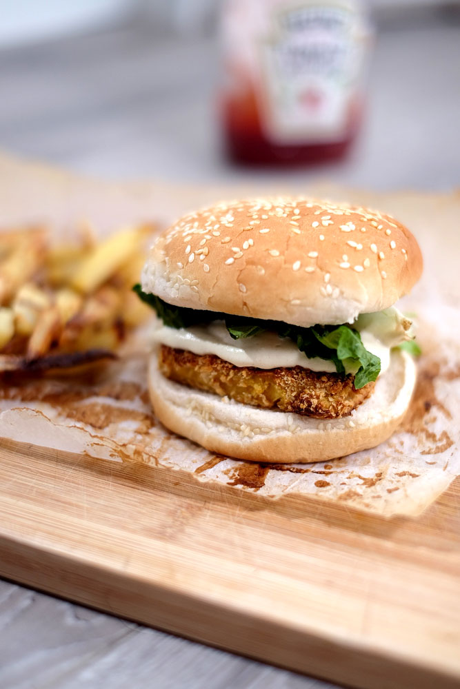 McTofu sandwich recipe