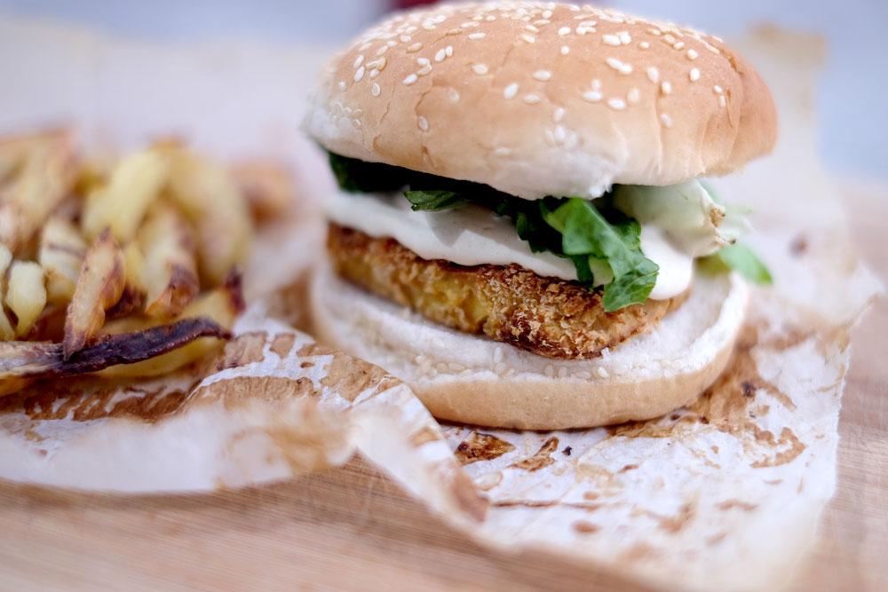 Vegan Mcdonalds burger