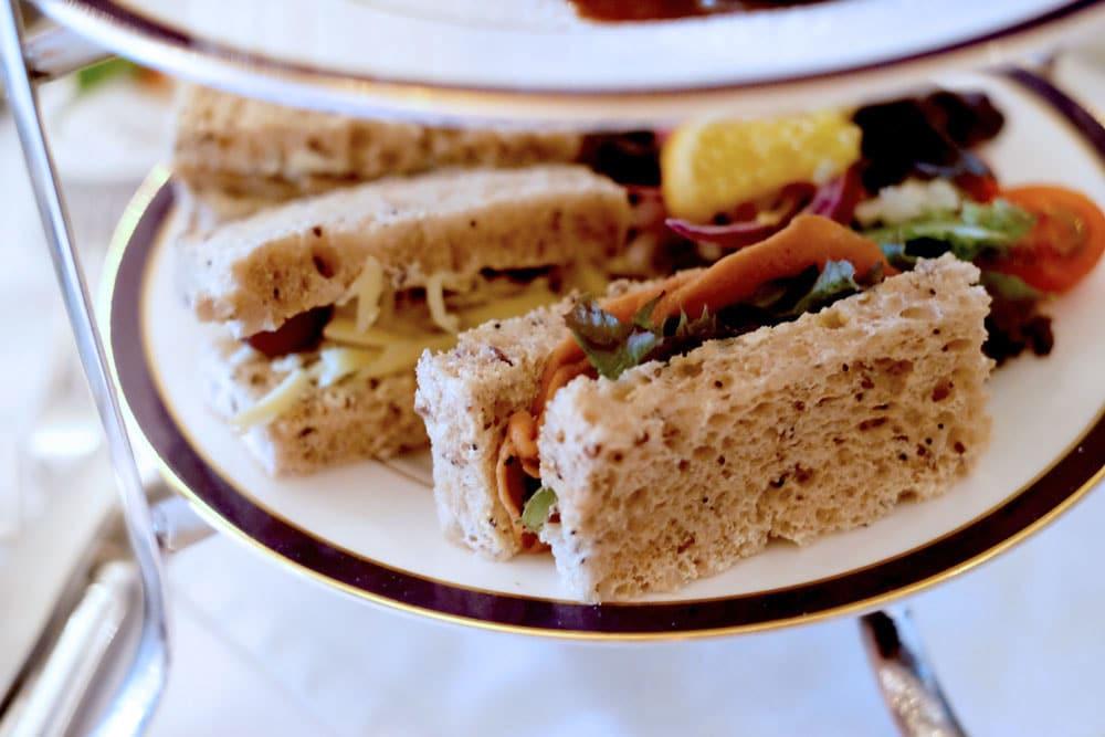Vegan finger sandwiches