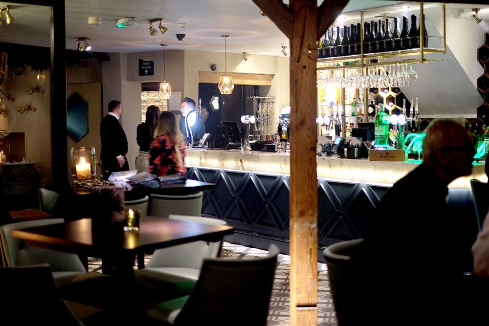Rustic bar restaurant Wirral