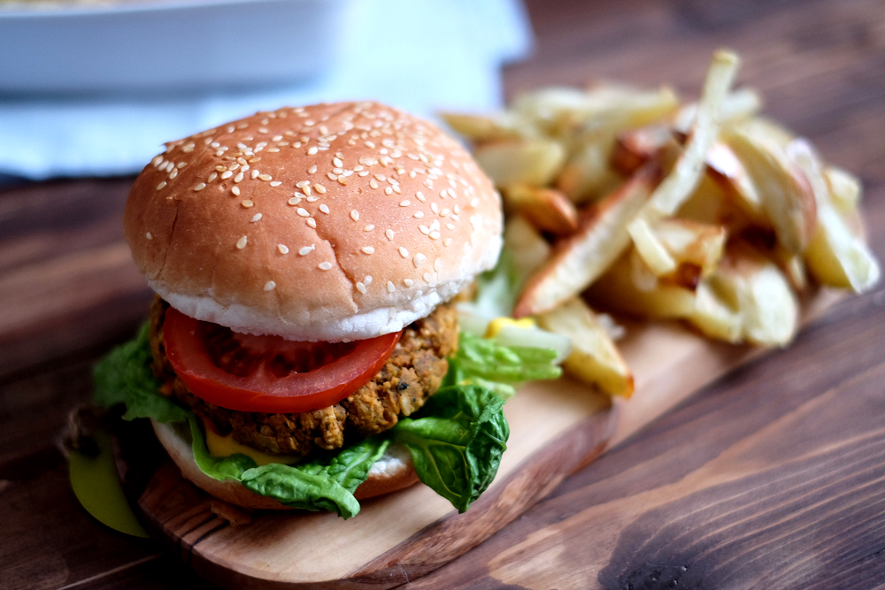 Plant Kitchen Burger