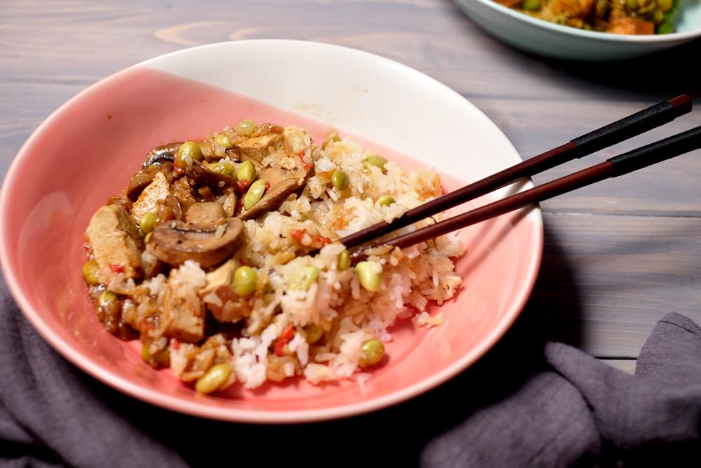 Plant Kitchen teriyaki tofu