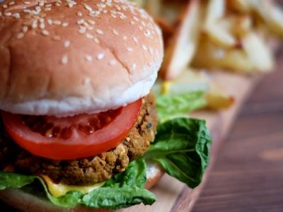 M&S Plant Kitchen Burger