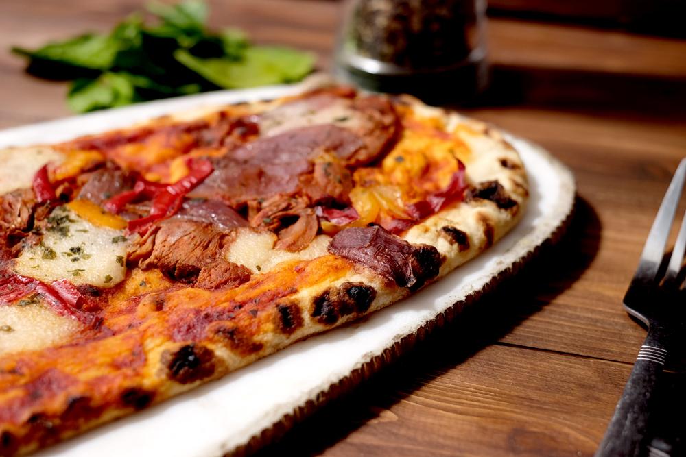 Plant Kitchen BBQ pizza