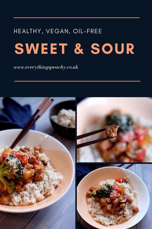 Vegan Sweet & Sour Pinterest