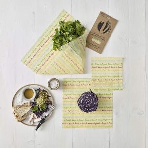 Vegan reusable food wrap
