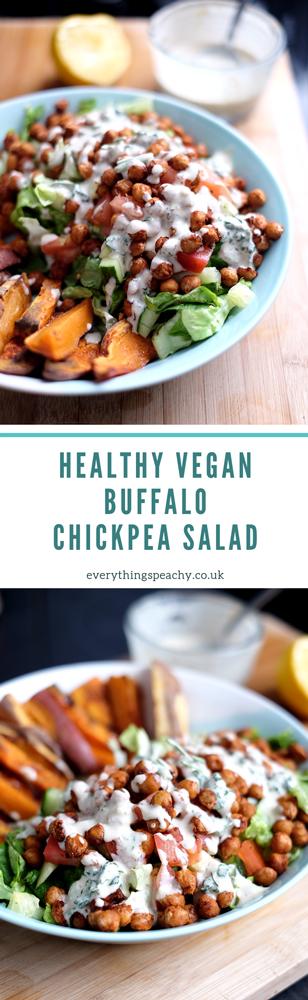 Buffalo chickpea salad recipe