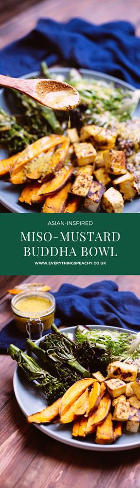 Miso-Mustard Buddha Bowl pinterest
