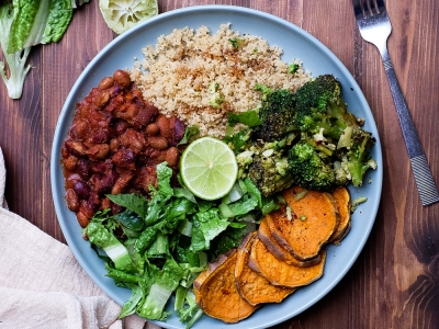 Plant-based nourish bowl
