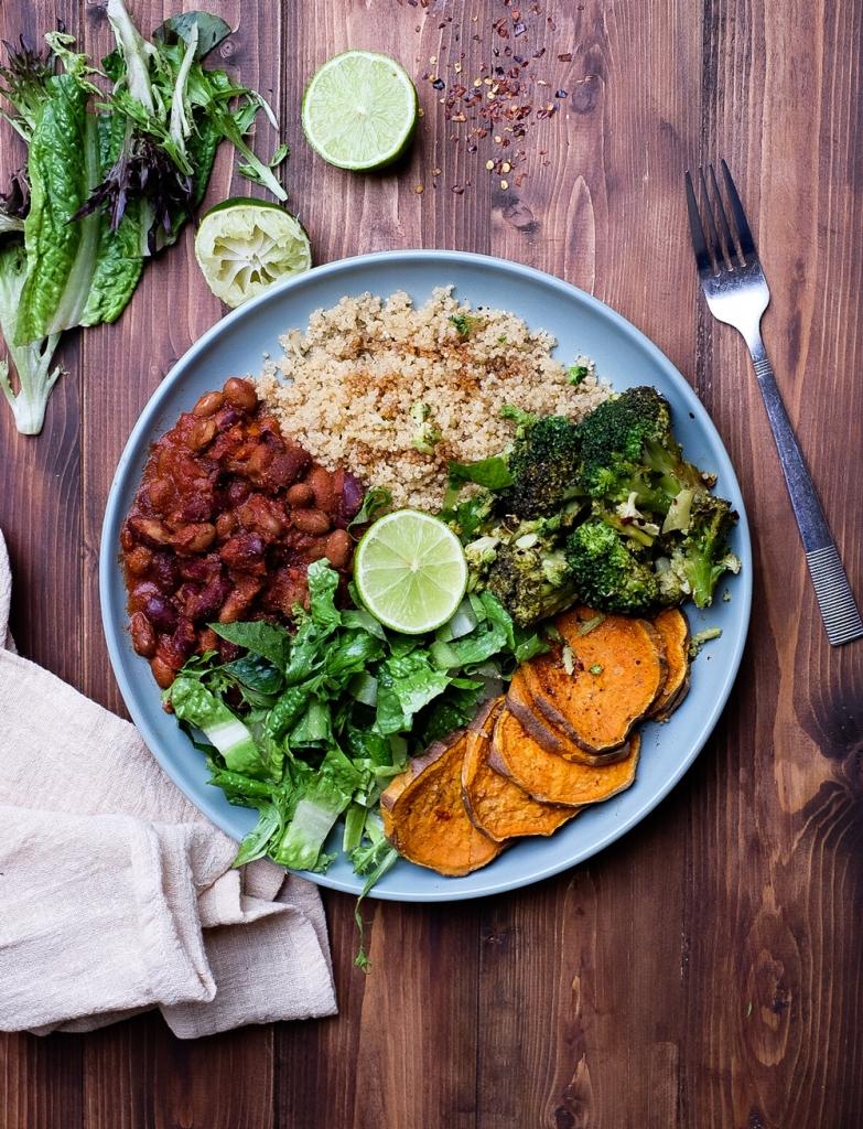 Plant-based nourish bowl